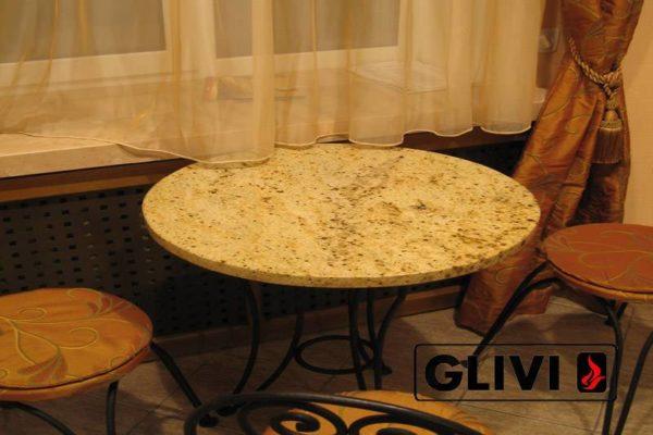 Стол из натурального камня (гранита) Урий, интернет-магазин столов, изображение, фото 1