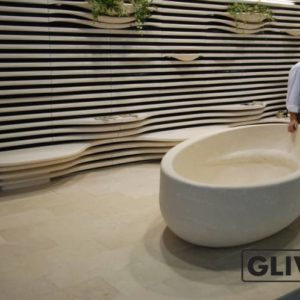 Ванная из натурального мрамора Валенсия