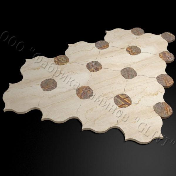 Плитка из натурального мрамора Вей, изображение, фото 5
