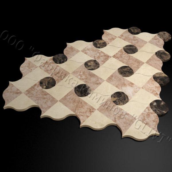 Плитка из натурального мрамора Вей, изображение, фото 3
