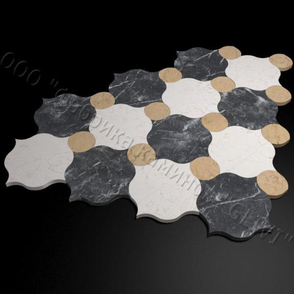 Плитка из натурального мрамора Вей, изображение, фото 2