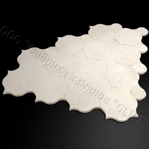 Плитка из натурального мрамора Вей, изображение, фото 1