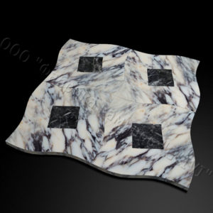 Плитка из натурального мрамора Ветро, изображение, фото 1