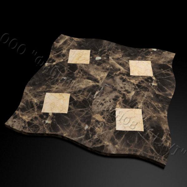 Плитка из натурального мрамора Ветро, изображение, фото 3