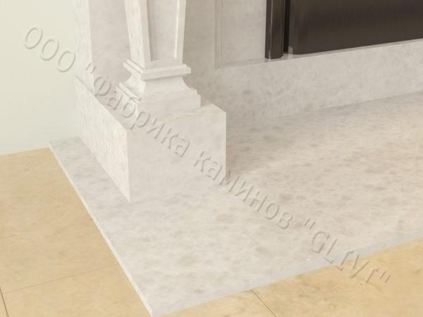 Мраморный каминный портал (облицовка) Анетис, каталог (интернет-магазин) каминов из мрамора, изображение, фото 2