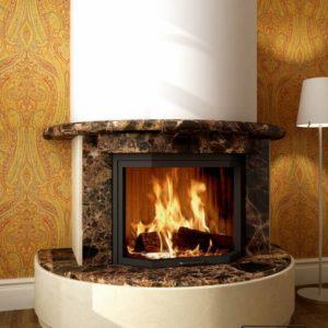 Мраморный каминный портал (облицовка) Литас, каталог (интернет-магазин) каминов из мрамора, изображение, фото 1