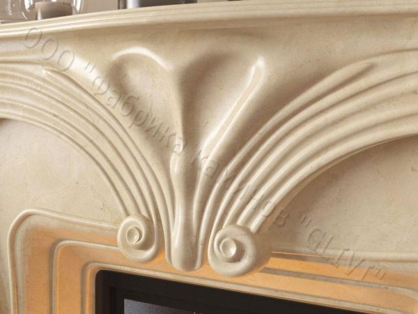 Мраморный каминный портал (облицовка) Морфо, каталог (интернет-магазин) каминов из мрамора, изображение, фото 4