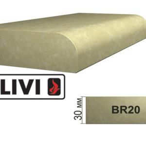 Обработка профиля (кромки) камня BR20 от Гливи. Снятие фаски, изображение, фото