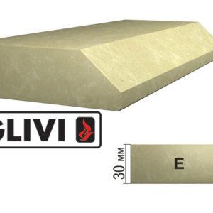 Обработка профиля (кромки) камня E от Гливи. Снятие фаски, изображение, фото