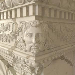 Мраморный каминный портал (облицовка) Фенди, каталог (интернет-магазин) каминов из мрамора, изображение, фото 10