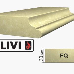 Обработка профиля (кромки) камня FQ от Гливи. Снятие фаски, изображение, фото