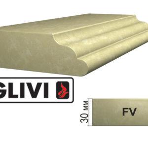 Обработка профиля (кромки) камня FV от Гливи. Снятие фаски, изображение, фото