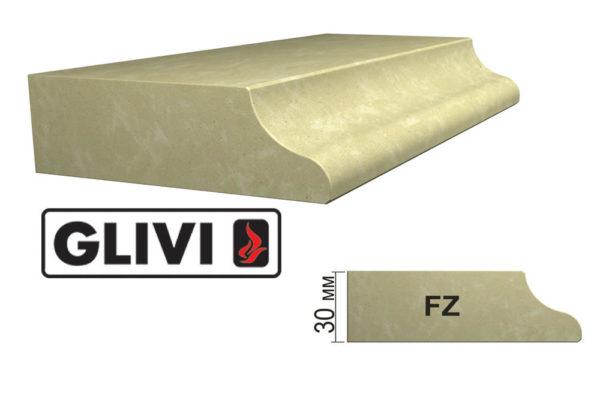 Обработка профиля (кромки) камня FZ от Гливи. Снятие фаски, изображение, фото