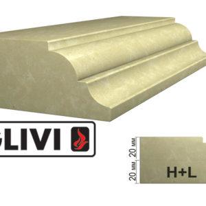 Обработка профиля (кромки) камня H+L от Гливи. Снятие фаски, изображение, фото 1