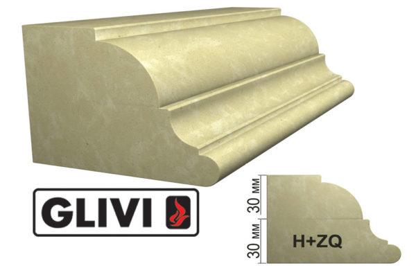 Обработка профиля (кромки) камня H+ZQ от Гливи. Снятие фаски, изображение, фото 1
