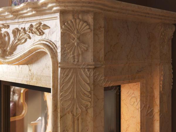 Двухсторонний (туннельный, стеклянный) камин Импрэссион, каталог каминов, изображение, фото 4