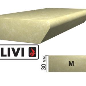 Обработка профиля (кромки) камня M от Гливи. Снятие фаски, изображение, фото