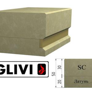 Обработка профиля (кромки) камня SC от Гливи. Снятие фаски, изображение, фото