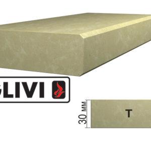 Обработка профиля (кромки) камня T от Гливи. Снятие фаски, изображение, фото