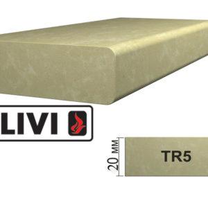 Обработка профиля (кромки) камня TR5 от Гливи. Снятие фаски, изображение, фото