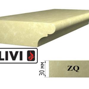 Обработка профиля (кромки) камня ZQ от Гливи. Снятие фаски, изображение, фото
