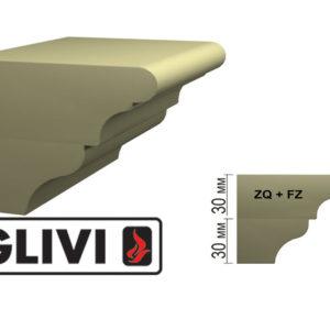 Обработка профиля (кромки) камня ZQ+FZ от Гливи. Снятие фаски, изображение, фото 1