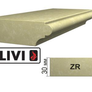 Обработка профиля (кромки) камня ZR от Гливи. Снятие фаски, изображение, фото