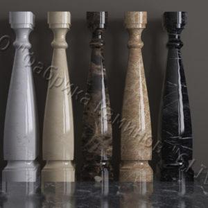 Балясины для балюстрад из мрамора Астра, изображение, фото 1