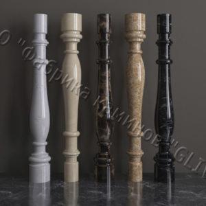 Балясины для балюстрад из мрамора Эрис, изображение, фото 1