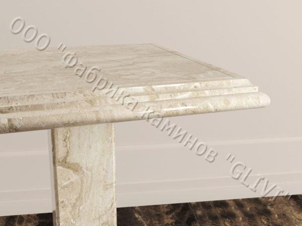 Стол из натурального камня (мрамора) Фива, интернет-магазин столов, изображение, фото 3