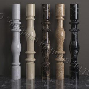 Балясины для балюстрад из мрамора Мира, изображение, фото 1