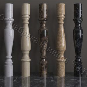 Балясины для балюстрад из мрамора Мишель, изображение, фото
