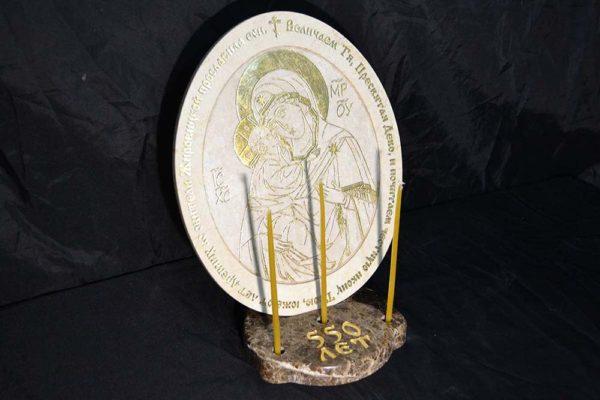 икона Жировичи из камня, фото