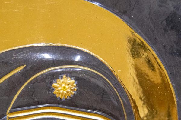 Икона Казанской Богоматери № 3/12-5 (резная) из мрамора от Гливи, фото 5