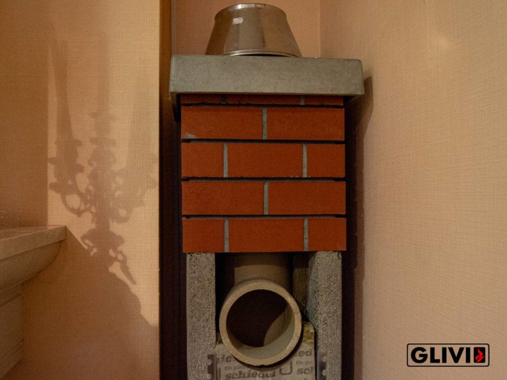 Часть дымохода салон Гливи, фото
