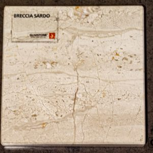 Мрамор Breccia Sardo, салон Гливи, фото 18