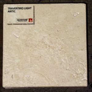 Травертин Travertino Light с обработкой антик, салон Гливи, фото 10