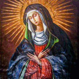 Икона Остробрамская Божия Матерь