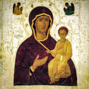 Икона Смоленская Богоматерь