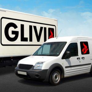 Услуга доставки товара от Гливи, фон background fon