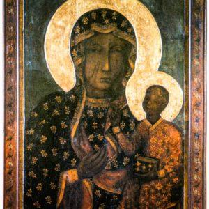 Икона Ченстоховская Божия Матерь