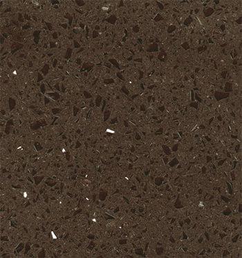 кварцевый композитный камень, композит кварца Brown mirrows, фото 1