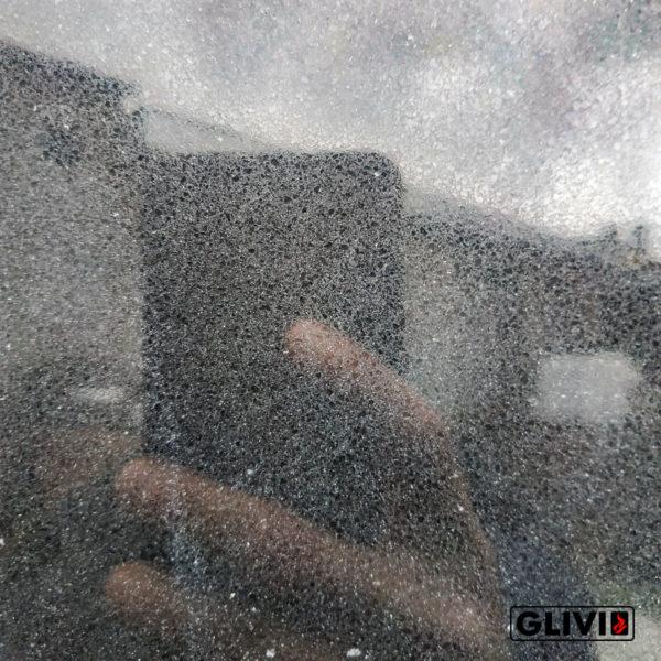 Кварцевый композитный камень, композит кварца Pure black, фото 7