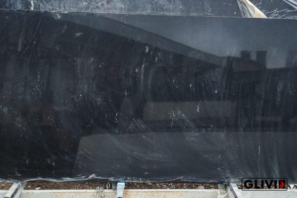 Кварцевый композитный камень, композит кварца Pure black, фото 9