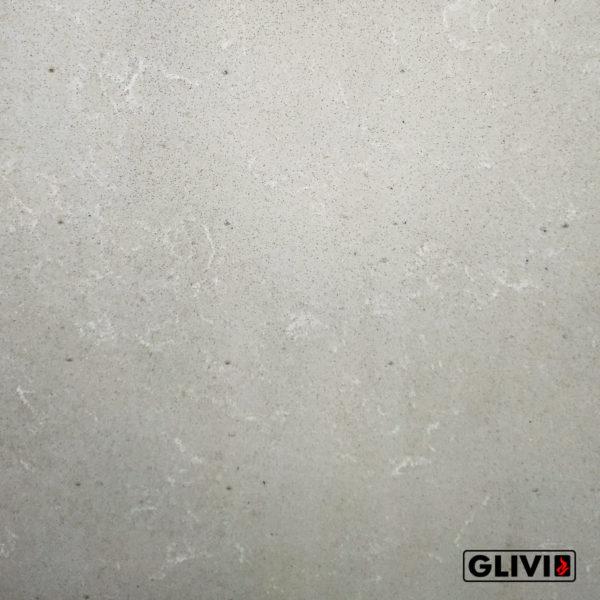 Кварцевый композитный камень, композит кварца Rich milk, фото 5