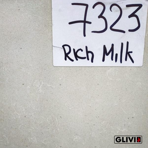 Кварцевый композитный камень, композит кварца Rich milk, фото 4