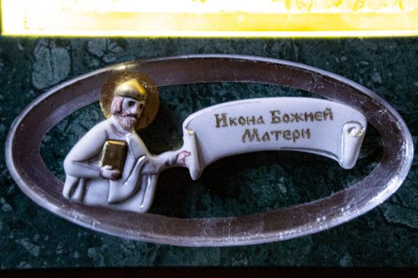 Икона Иверской Божией Матери (рельефная, храмовая) без № из мрамора, камня, от Гливи, фото 23