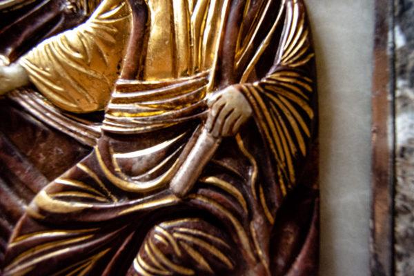 Икона Влахернская Богоматерь № 02 из мрамора, камня, от Гливи, фото 8