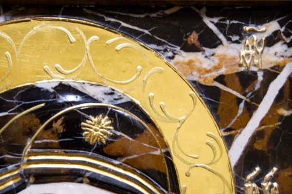 Икона Казанской Божией Матери № 3-12-6 из мрамора, камня, от Гливи, фото 4