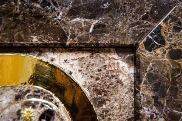 Икона Казанской Божией Матери № 3-12-8 из мрамора, камня, от Гливи, фото 7